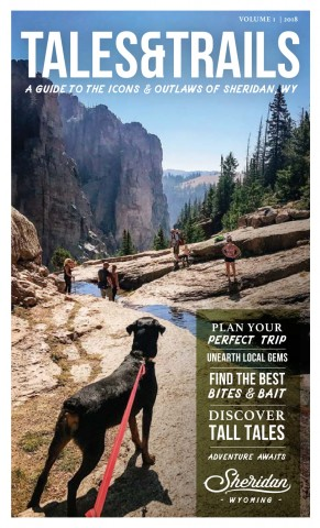 Sheridan Travel and Tourism Visitors Guide 2018 Cover