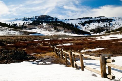 Snowy Bighorn Mountains