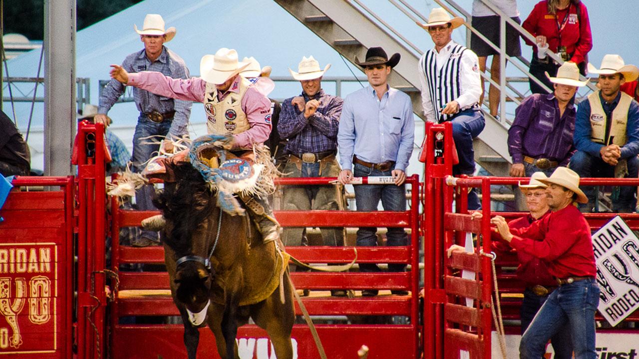 Wyo Rodeo Sheridan Wyoming Travel And Tourism