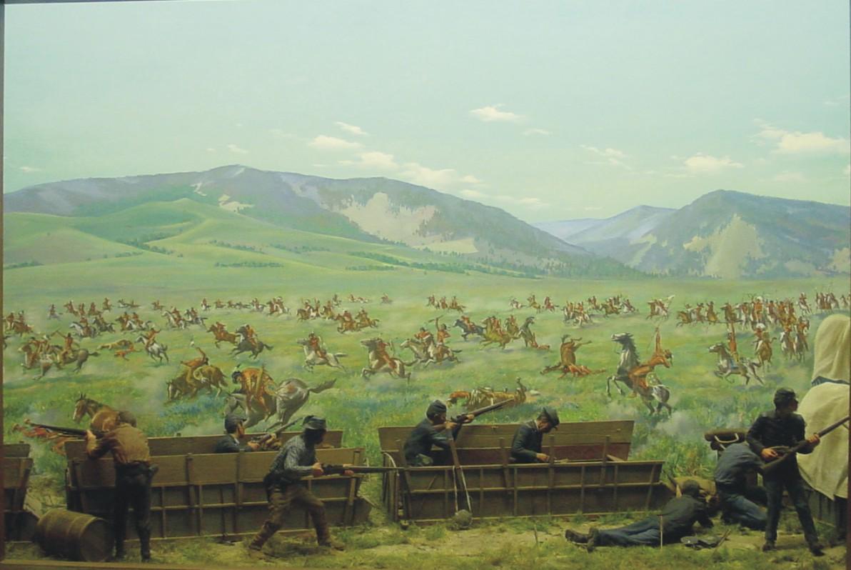 Wagon Box Fight, Wyoming   Flickr - Photo Sharing!